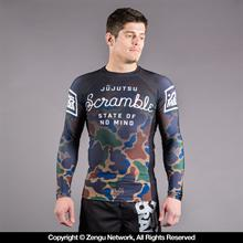 "Scramble ""No Mind"" Camo Rashguard"
